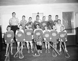 Youngsters form Lacrosse unit in Fergus