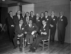 Officers and Directors of the Royal City Kiwanis Club for 1964