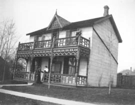Unidentified house with porch