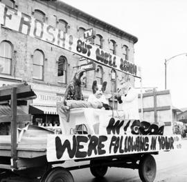 An OVC Float In The Homecoming Weekend Parade