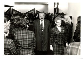 Photograph from opening of Osler building and residence
