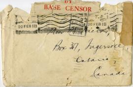 Letter to Miss Marjorie Nichols from Morton Gerrie