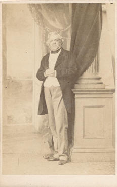 Photograph of William Makepeace Thackeray