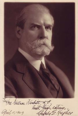 Photograph of Charles E. Hughes