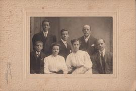 Photograph of unidentified family