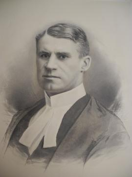 Photograph of D.W. Saunders