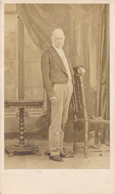 Photograph of the Marquess of Lansdowne