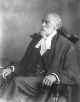 Photograph of Justice Featherston Osler