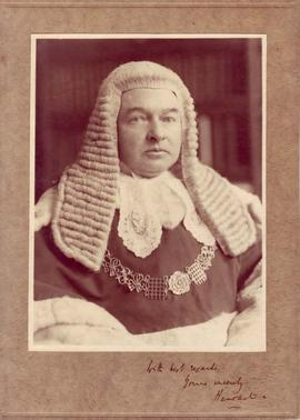 Photograph of Lord Hewart