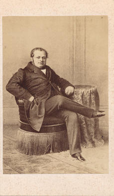 Photograph of Count Cavour