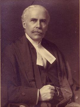 Photograph of Judge Edward Huycke