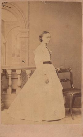 Photograph of Miss. L. Hunt