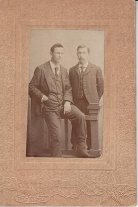 Photograph of two unidentified men