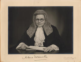 Photograph of Helena F. Normanton