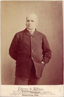 Photograph of Aemilius Irving