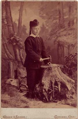 Photograph of D'Alton Lally McCarthy, aged 9