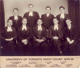 University of Toronto moot court, 1935-36