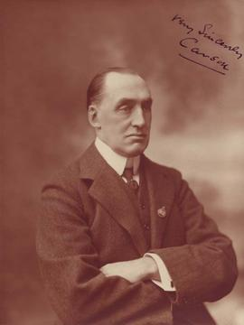 Photograph of Lord Edward Henry Carson