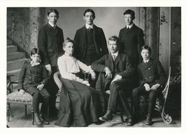 Photograph of the Bell family