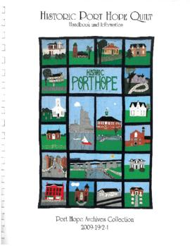 Historic Port Hope Quilt Wall Hanging