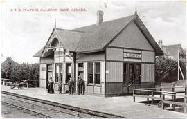 G.T.R. Station, Caledon East, Canada.