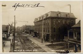 Main St. S. from C.P.R. Brampton