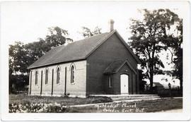Methodist Church, Caledon East, Ont.