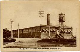 The Copeland Chatterson Printing House, Brampton Ont.