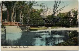 Bridge at Eldorado, Ont., Canada