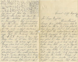 Gordon family correspondence