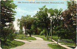 Church Street, near Crescent, Brampton, Ont.