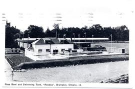 "Rose Bowl and Swimming Tank, ""Rosalea"", Brampton, Ontario.--8."
