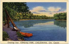 Greetings from FERNDALE PARK, CHELTENHAM, Ont. Canada
