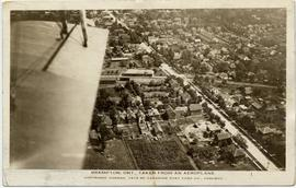 Brampton, Ont., taken from an aeroplane, copyright, Canada, 1919 by Canadian Post Card Co., Toronto
