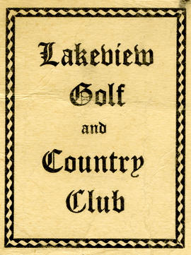 Lakeview Golf Course collection