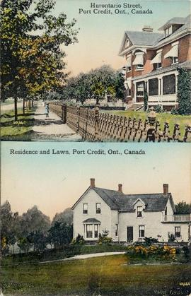 Hurontario Street, Port Credit, Ont., Canada, Residence and Lawn, Port Credit, Ont., Canada