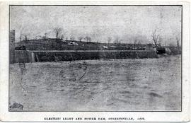 Electric Light and Power dam, Streetsville, Ont.
