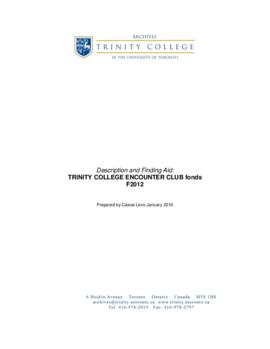 Trinity College Encounter Club