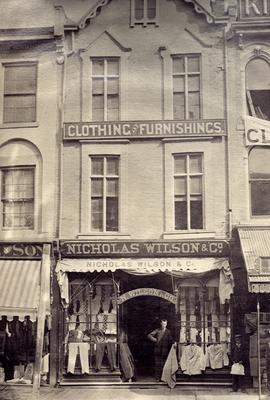 Clothing Stores:  Nicholas Wilson & Co.