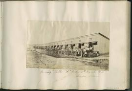"Morning Stables, ""H"" Battery, 4th brigade R.A. [Royal Artillery]"