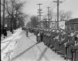 Elgin Regiment leaves for Toronto
